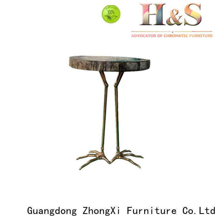 New folding side table for business at home