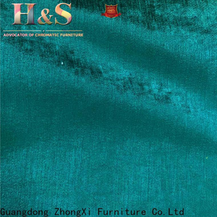 HS Best leather fabric swatch factory