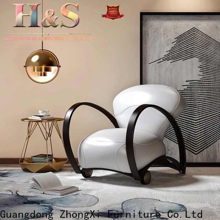 HS stylish swivel accent chairs sale in living room