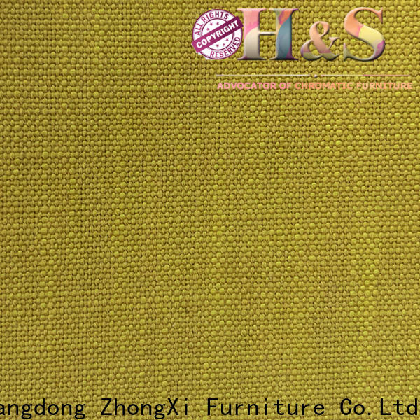 HS Top upholstery pvc leather company