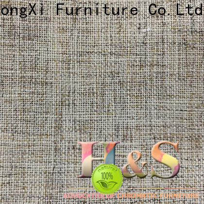 HS High-quality polyester blend fabric furniture manufacturers