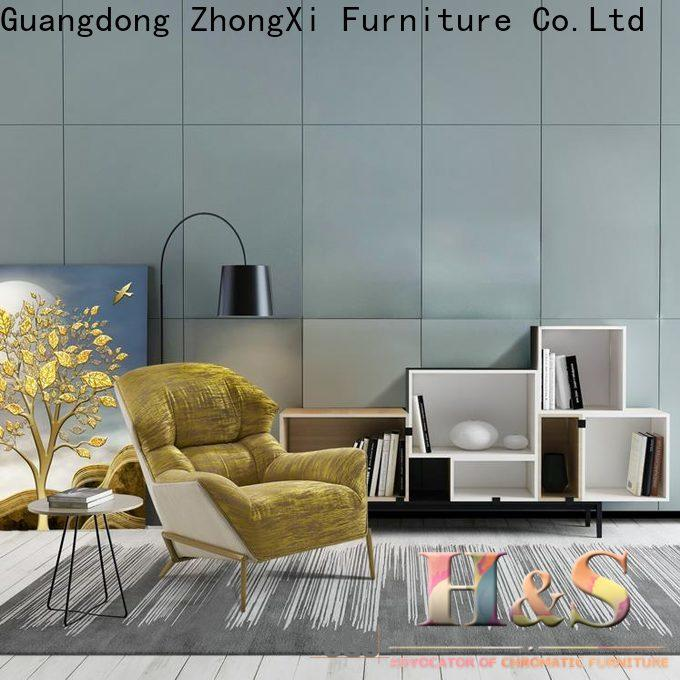 HS Wholesale blue and gray chair product design