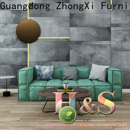 HS living room sofa product design at home