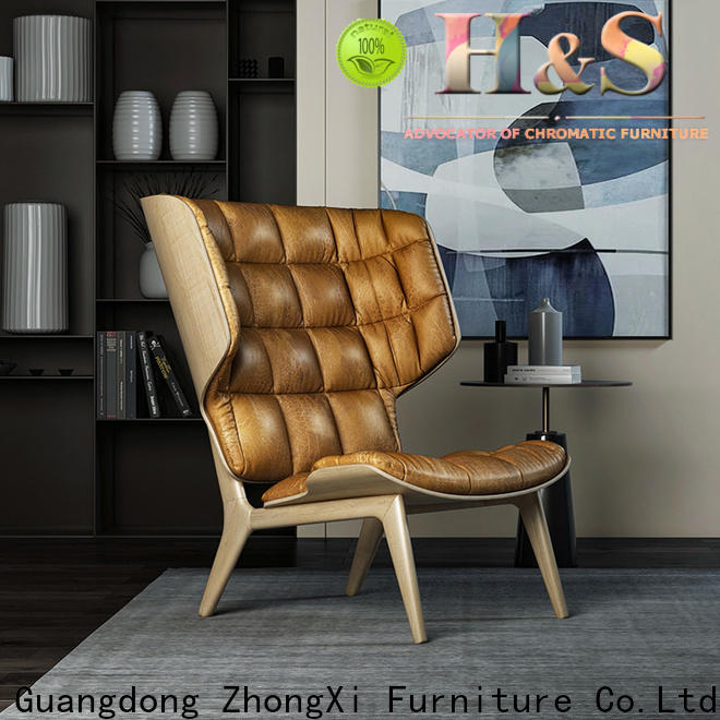 HS custom buy lounge chair Suppliers at home