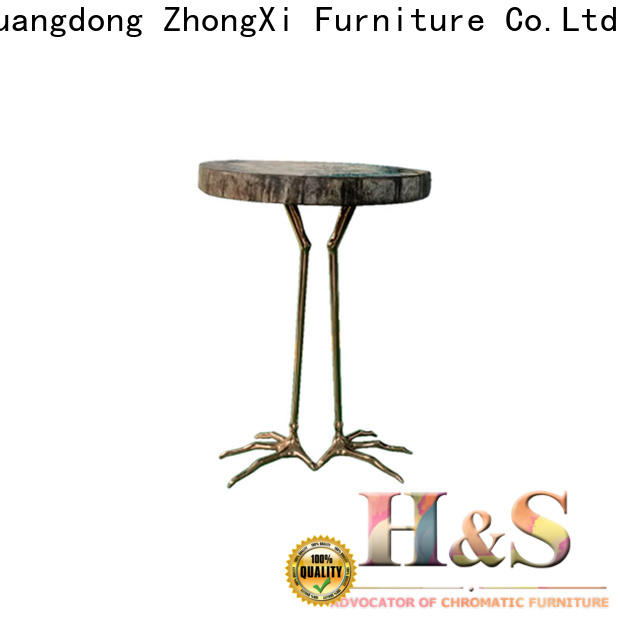 HS folding side table Suppliers at home