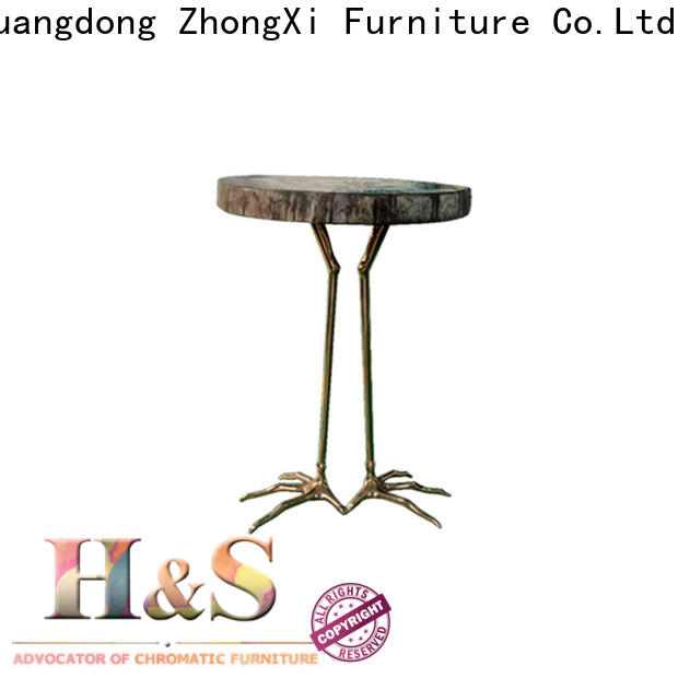 Wholesale folding side table in living room