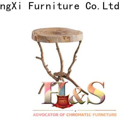 HS comfy folding side table Suppliers at home