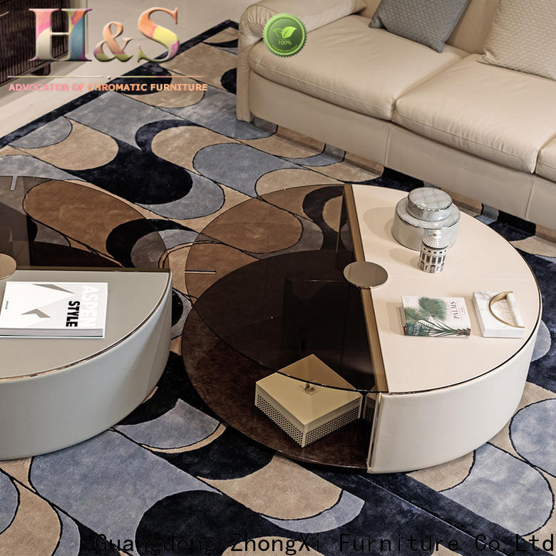 High-quality grey curved sofa furniture indoor