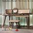 HS modern brown sofa chair factory