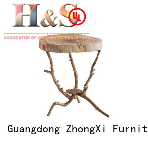 HS folding side table classic in living room