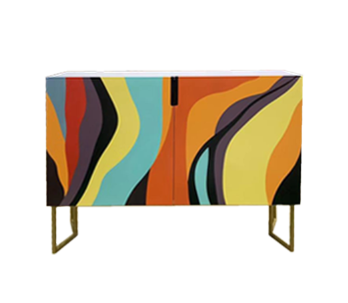 Rainbow Cabinet Modern Side Table