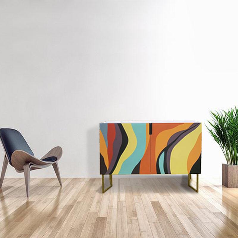 Rainbow Cabinet Modern Side Table