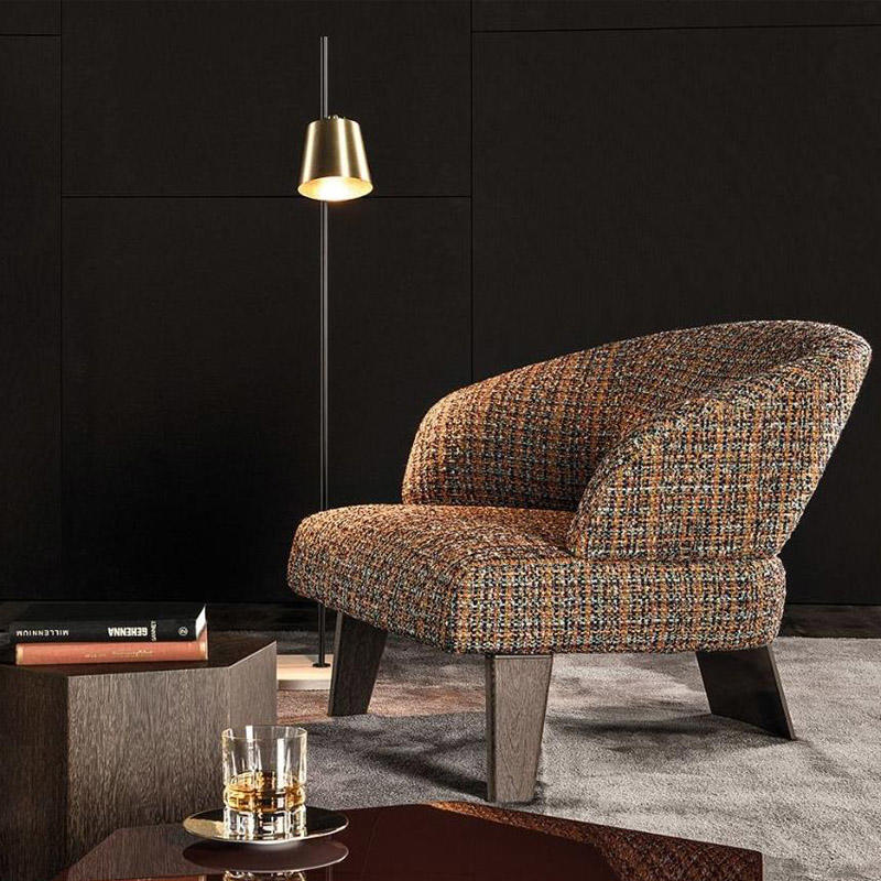 Postmodern Italian living room sofa chair HS-D2009