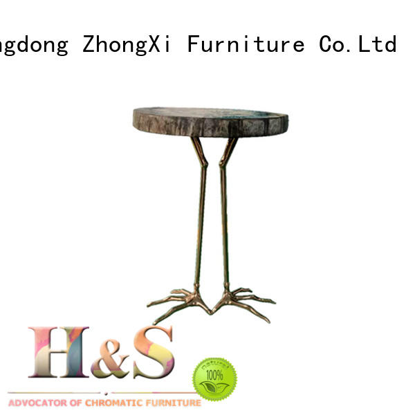 HS folding side table furniture indoor
