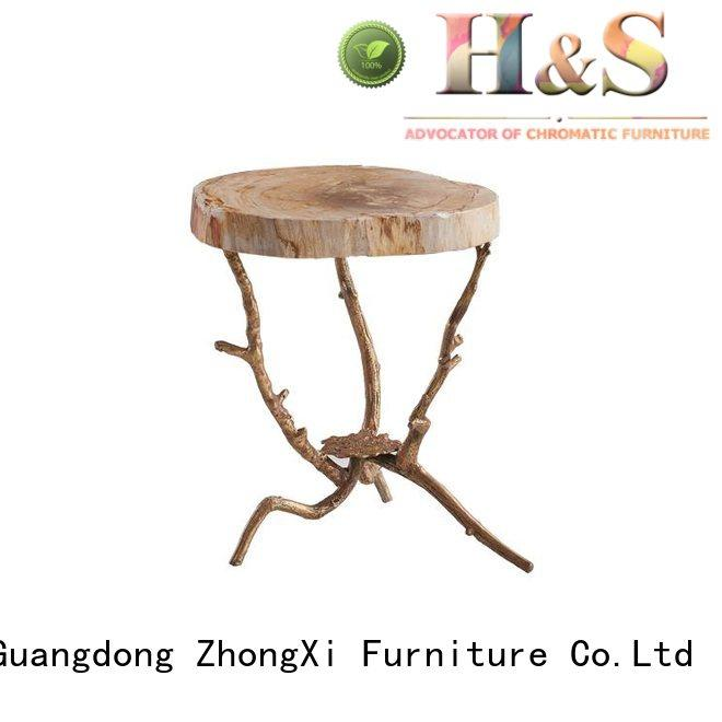 HS contemporary side table manufacturer in living room
