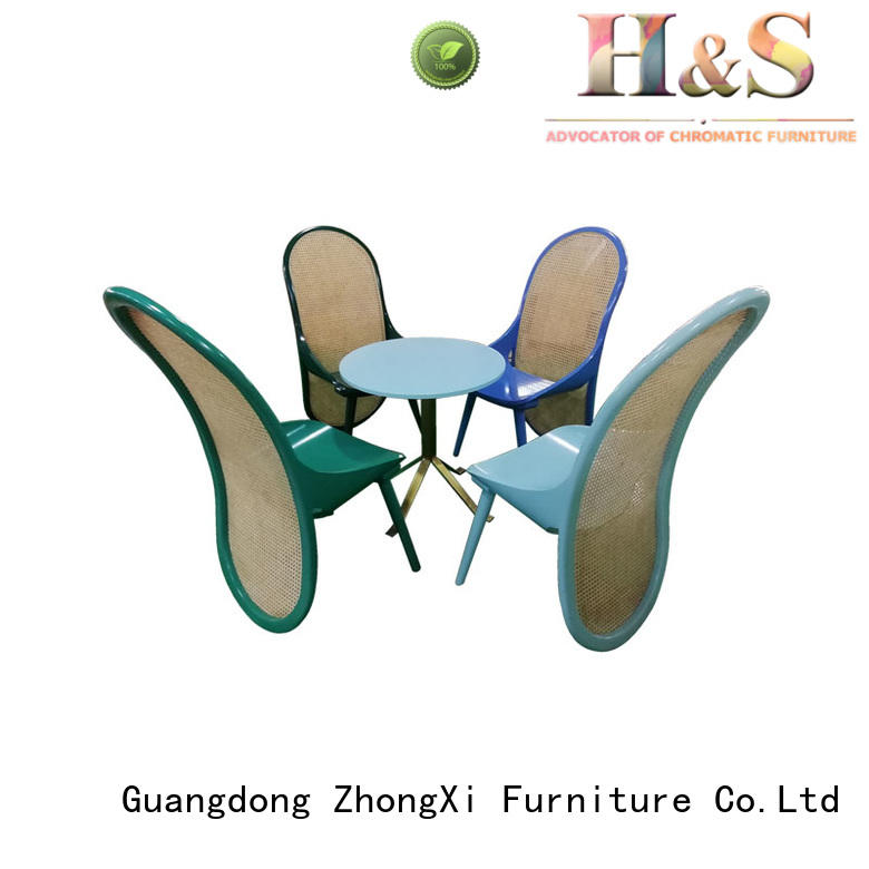 HS custom leather dining chairs furniture