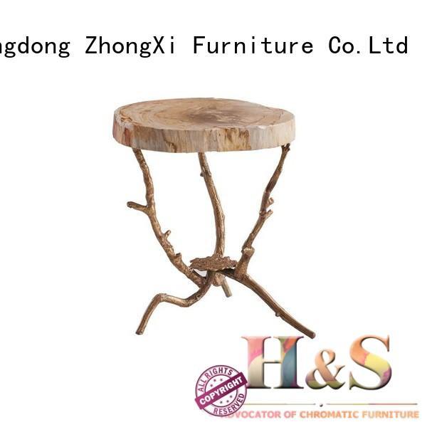 HS comfy folding side table furniture indoor