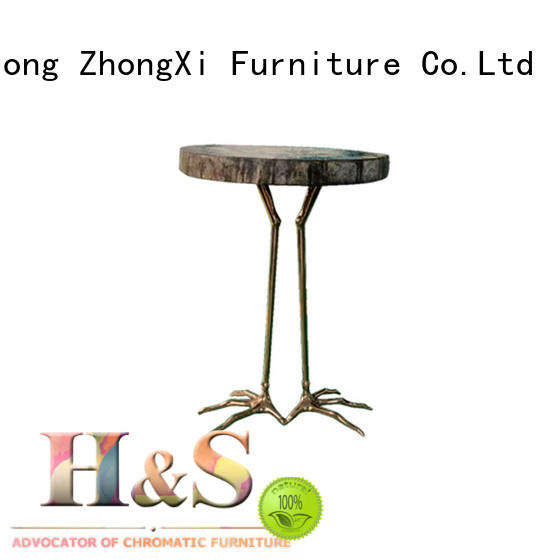 HS contemporary side table furniture in living room
