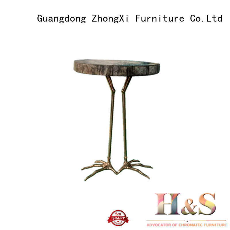 HS contemporary side table company at home