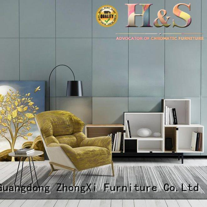 High-quality white swivel accent chair manufacturers in living room