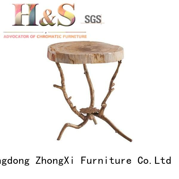 HS accent folding side table space indoor