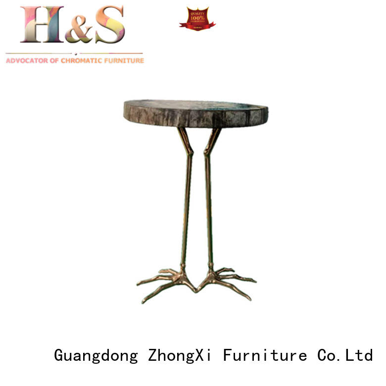 HS folding side table for business at home