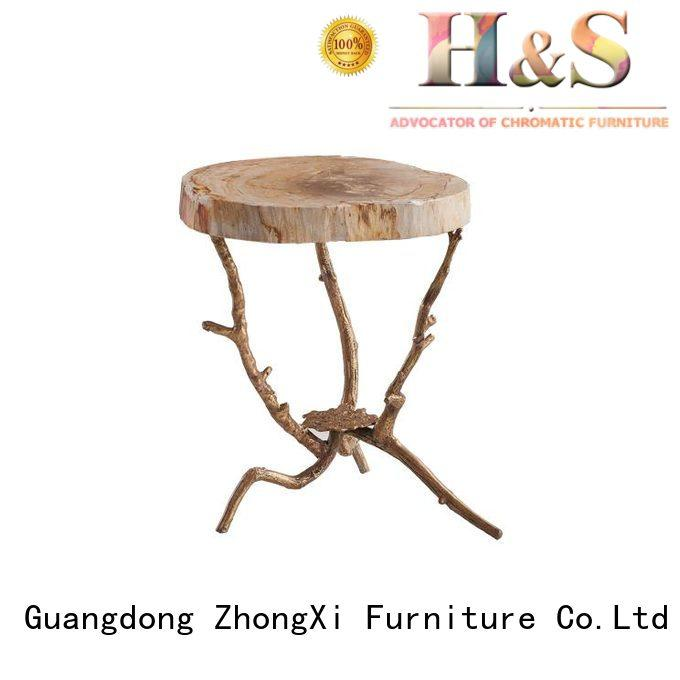 HS contemporary side table factory at home