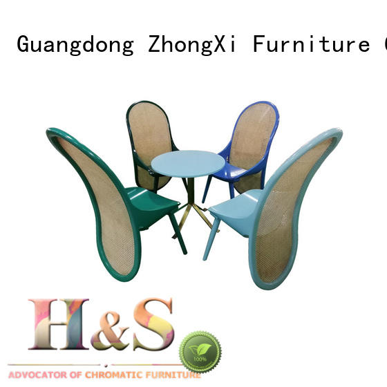 HS long dining room table decor furniture