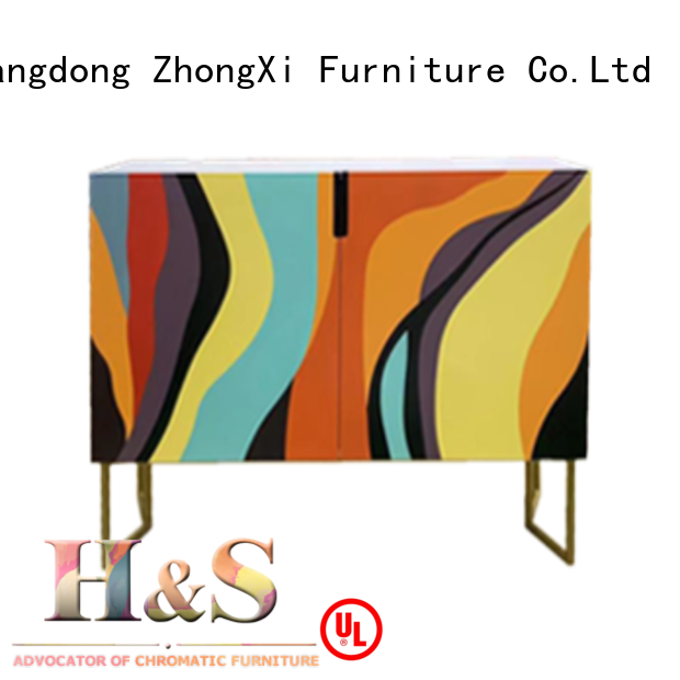 HS folding side table furniture dining room