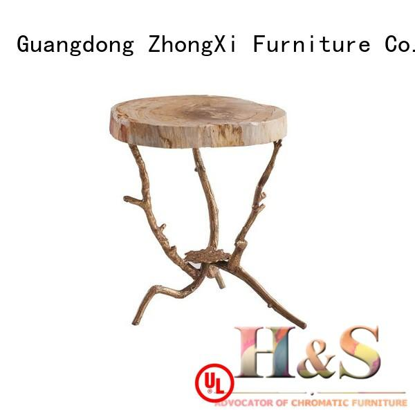 HS modern side table company at home