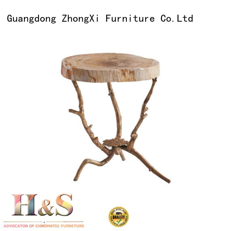 HS Latest modern side table for business indoor