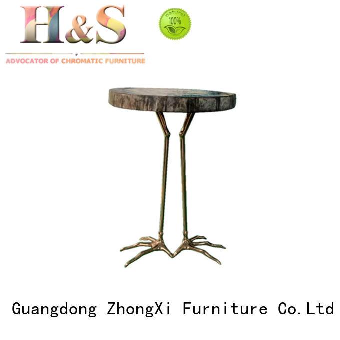 comfortable vintage side table furniture in living room HS