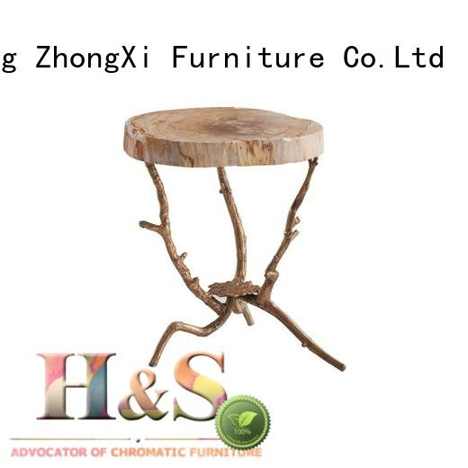 HS modern side table product design in living room