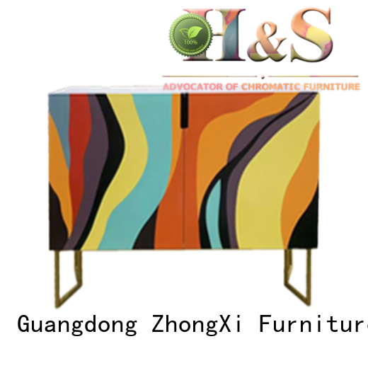 HS comfortable folding side table furniture dining room