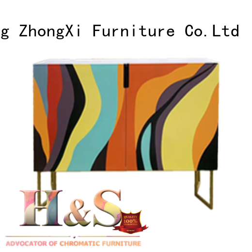 HS folding side table for business indoor