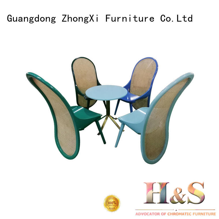 HS dining table top decor factory in living room