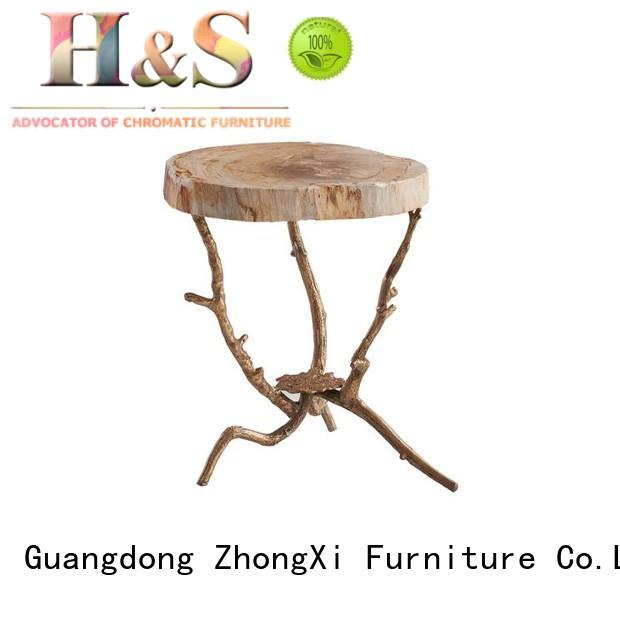 HS modern side table factory dining room