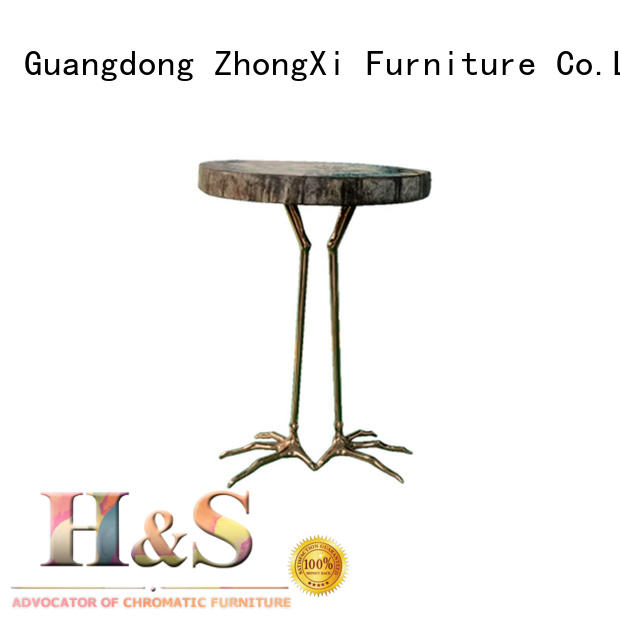 custom modern side table factory dining room