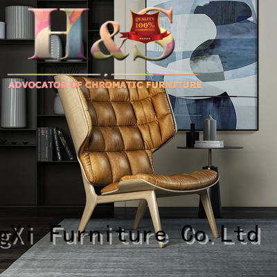 HS modern good lounge chairs product design at home