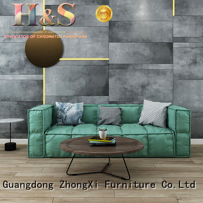 HS turquoise sofas & loveseats factory dining room