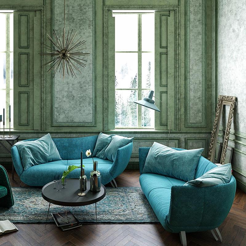 Quality Sofas Waves Furniture Leather Sofa
