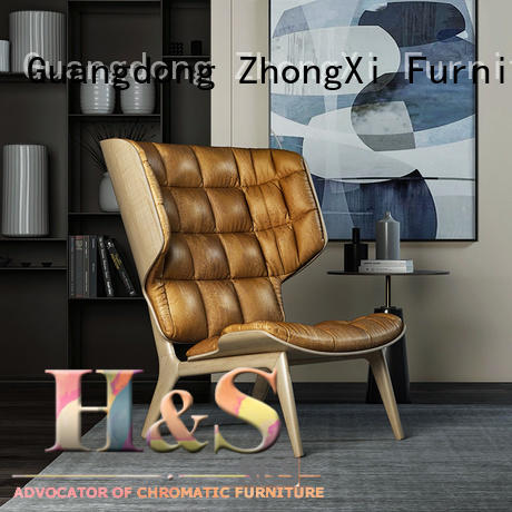 HS Custom best price chaise lounge chairs company in living room