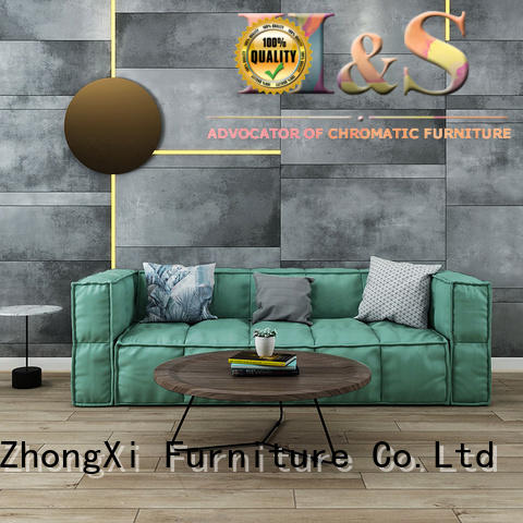 HS blue gray sofa manufacturer at home