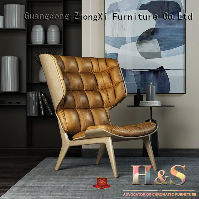 HS modern high end lounge chairs dining room