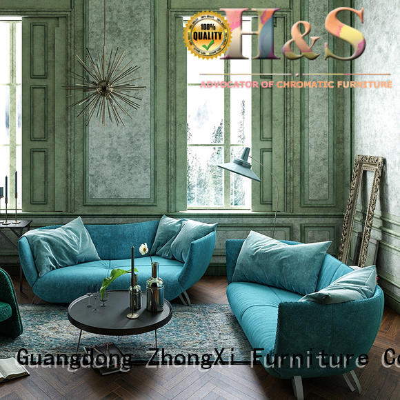 furniture leather sofa at home HS
