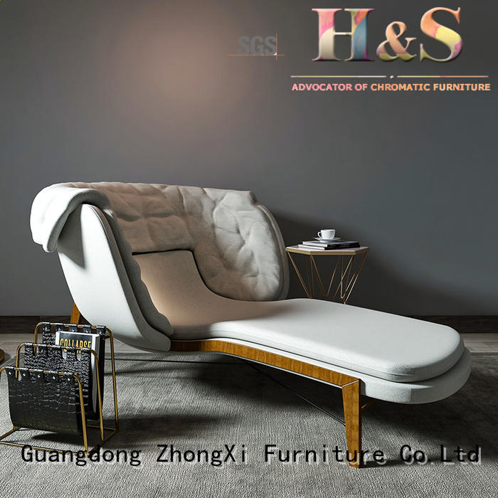 HS comfy colorful lounge furniture company in living room