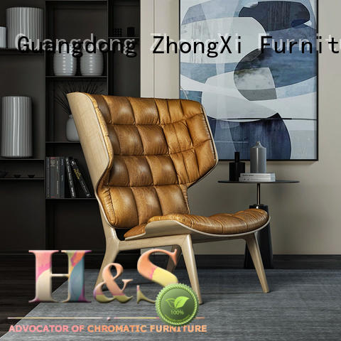 contemporary lounge chair manufacturer at home HS