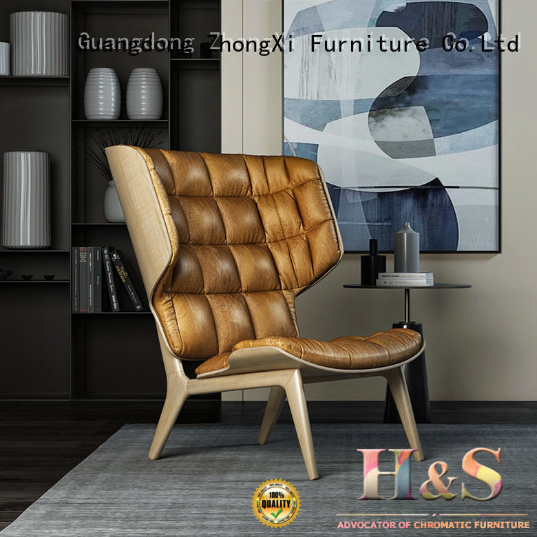 HS custom contemporary lounge chair Suppliers dining room