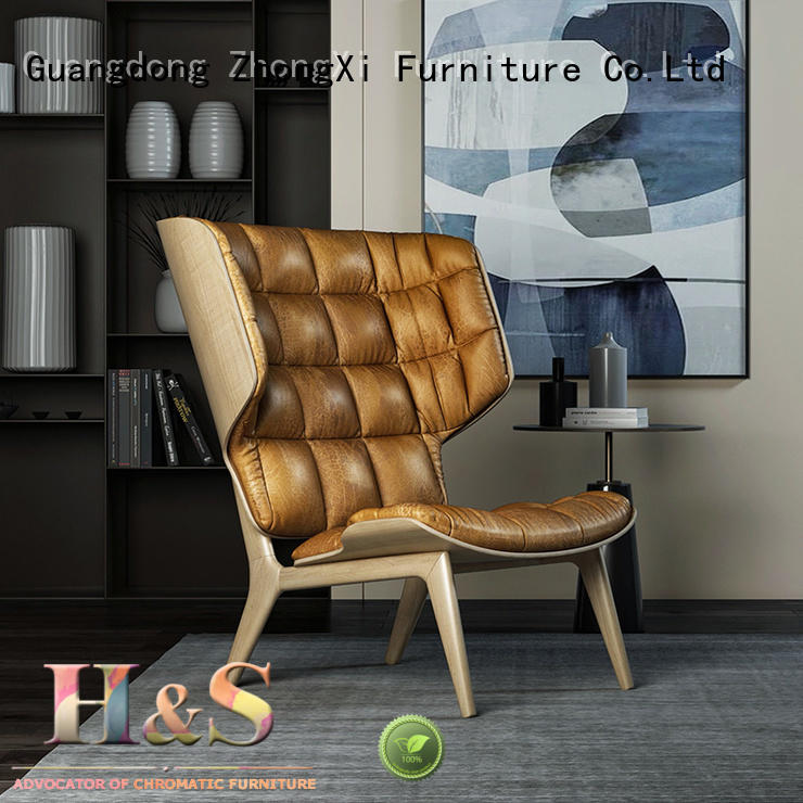 HS affordable chaise lounge chairs factory indoor