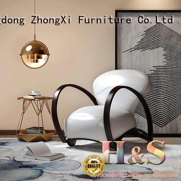 HS customizable teal velvet accent chair factory